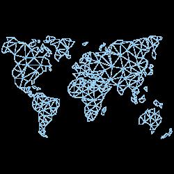 —Pngtree—lattice line background map world_3932186
